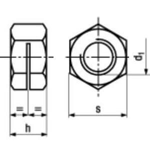 Гайка NFE-25-411 Форма 2