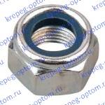 ISO 7040 Шестигранная Гайка м14 с зажимным элементом с пластиковым кольцом близкий аналог DIN 6924